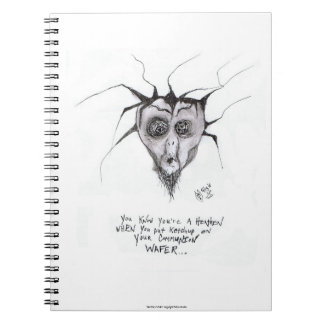"""You Know You're a Heathen When..."" Notebook"