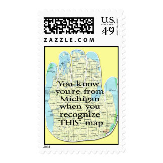You Know You're From Michigan When Postage