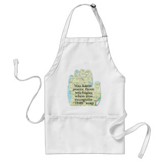 You Know You're From Michigan When You Recognize Adult Apron