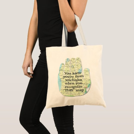 You Know You're From Michigan When You Recognize Tote Bag