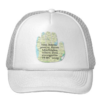 You Know You're From Michigan When You Recognize Trucker Hat