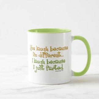 You Laugh Because I'm Different, I Laugh Because I Mug