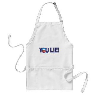 YOU-LIE-ALONE-2 ADULT APRON