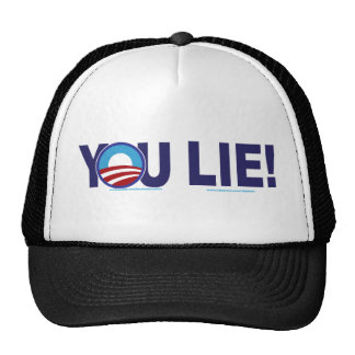 YOU-LIE-ALONE-2 MESH HATS