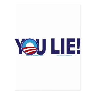YOU-LIE-ALONE-2 POSTCARD