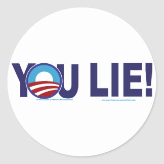 YOU-LIE-ALONE-2 STICKERS