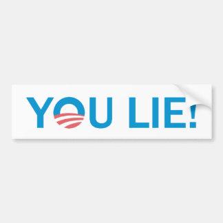 You Lie! AntiObama Bumper Sticker