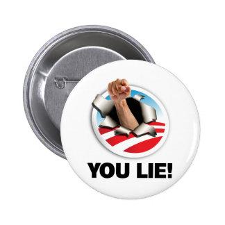 You Lie! Button