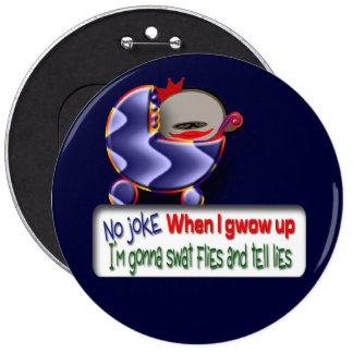 You Lie Pinback Button