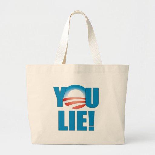 You Lie! Canvas Bags