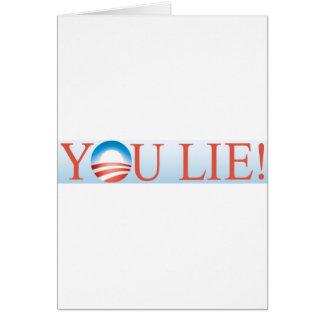 You Lie Cards