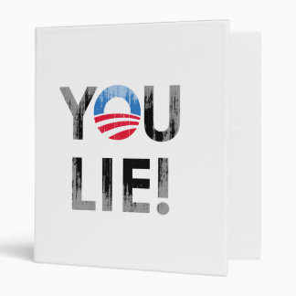 YOU LIE Faded png Binder