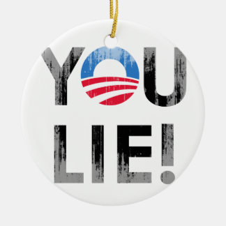 YOU LIE Faded png Ornaments