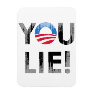 YOU LIE Faded png Flexible Magnet