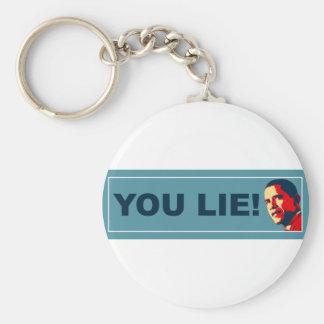 You Lie Keychain