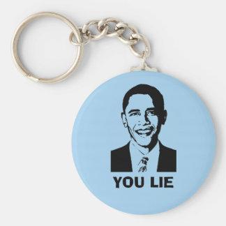 You Lie! (Obama) Key Chain