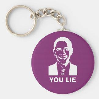 You Lie! (Obama) Key Chains