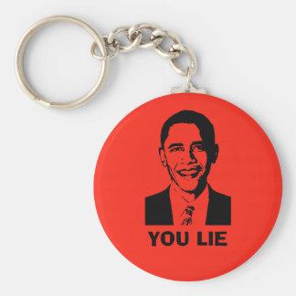 You Lie! (Obama) Keychain