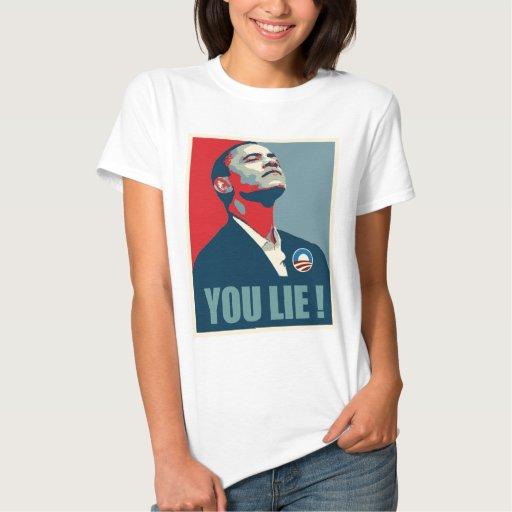 YOU LIE! Obama Shirt for Women