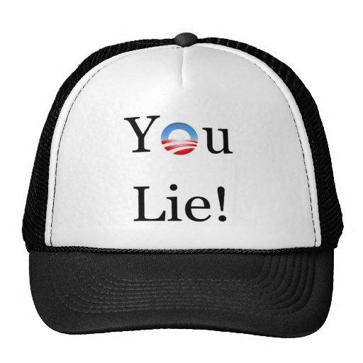 You Lie Obama Trucker Hat