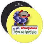 You Lie Pinback Buttons