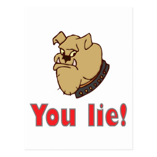 You lie! post cards