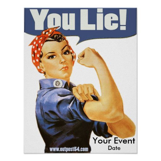 You Lie Poster