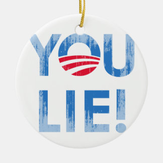 YOU LIE T-shirt Faded png Ornaments