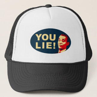 You lie! trucker hat