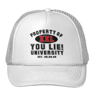 You Lie! University Trucker Hat