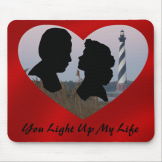 YOU LIGHT UP MY LIFE-MOUSEPAD MOUSE PAD
