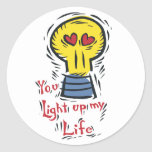 You Light Up My Life Stickers
