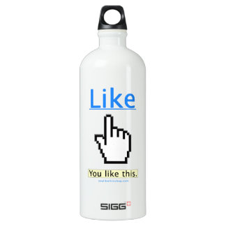You Like This. Aluminum Water Bottle