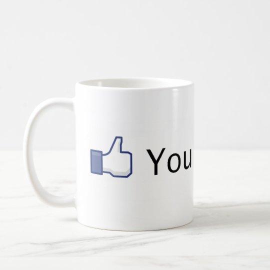 You like this. Facebook like. Coffee Mug