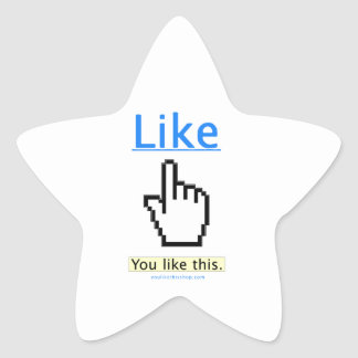You Like This. Star Sticker