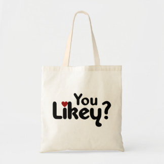You Likey Canvas Bags