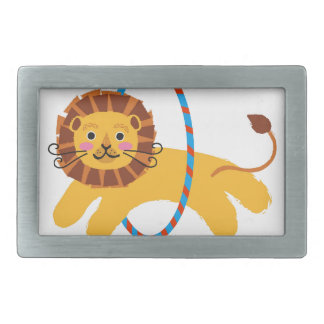 You Lion? Humor Illustration Design Collection Belt Buckle
