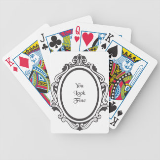 You Look Fine (Mirror) Bicycle Playing Cards