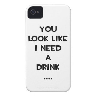 You look like i need a drink ... funny quote meme blackberry bold case