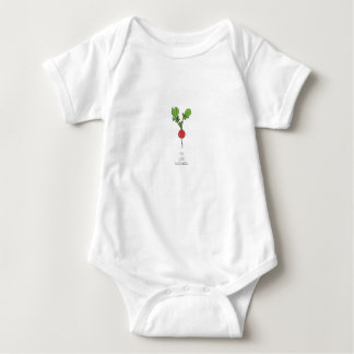 You Look Radishing Baby Bodysuit