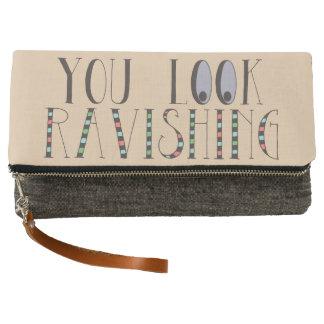 You Look Ravishing Positive Affirmation Clutch