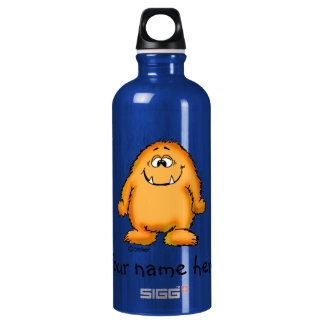 You look yummy - cute yellow monster by send2smile SIGG traveler 0.6L water bottle
