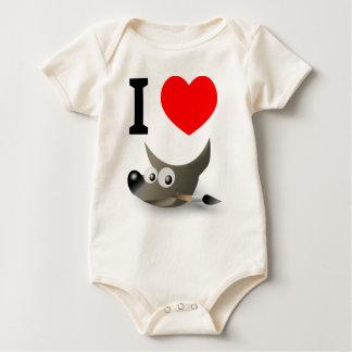 You love GIMP? Show it! Baby Bodysuit