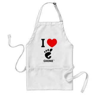 You love Gnome? Show it! Adult Apron