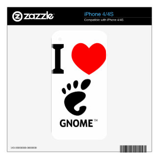 You love Gnome Show it Skins For The iPhone 4