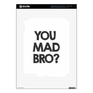 You mad bro? decal for iPad 3
