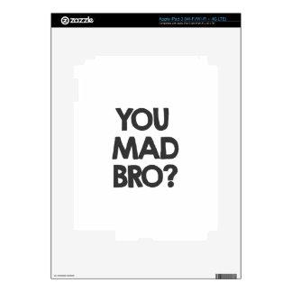 You mad bro? iPad 3 decal