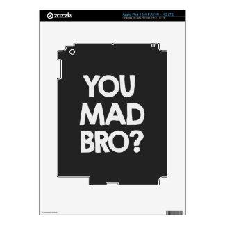You mad bro? iPad 3 skin