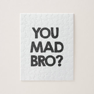 You mad bro? jigsaw puzzle