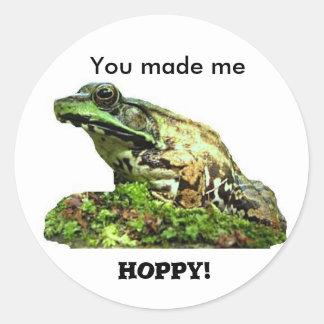 You made me... sticker